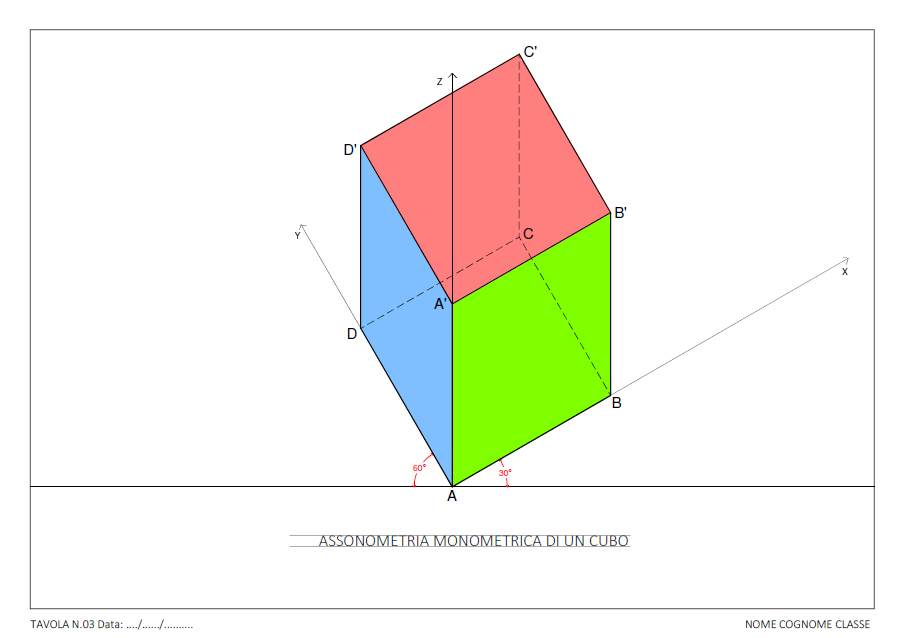 tav-03-assonometria-monometrica-di-un-cubo